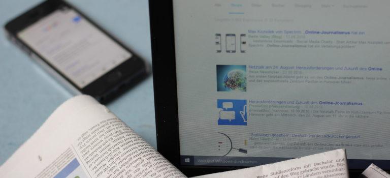 Wer rettet den Online-Journalismus?