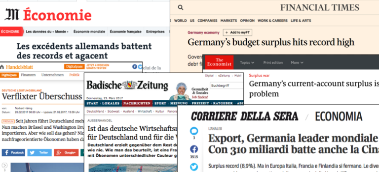 Kritik am Rekordüberschuss der deutschen Leistungsbilanz: Besteht Handlungsbedarf?