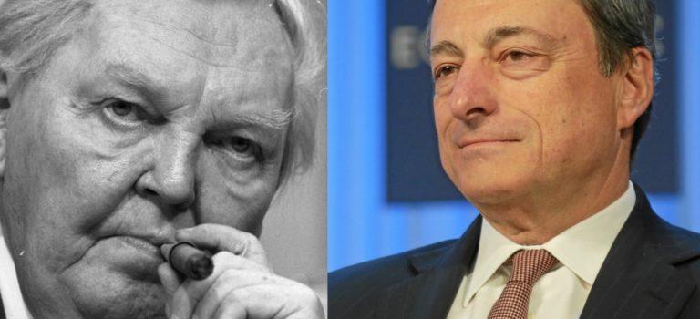 Ludwig Erhard, Mario Draghi und die Psychologie in der Wirtschafts- und Geldpolitk